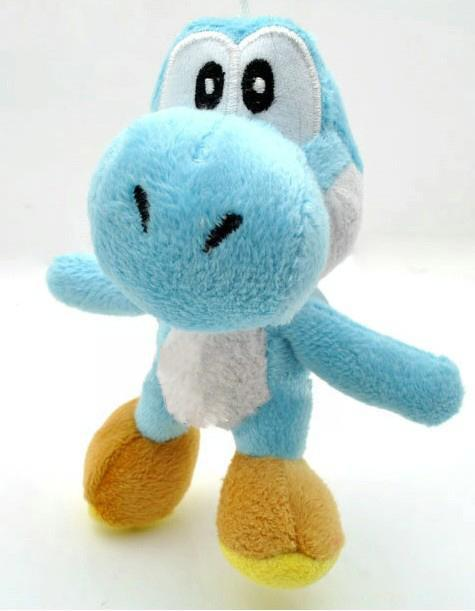 "High Quality Soft Plush Super Mario Bros Yoshi Plush Anime 4"" Cos Figure Plush figures."