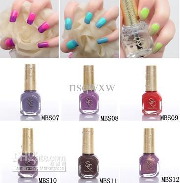 Sweet Color Environmental Protection Nail Polish Temperature ...