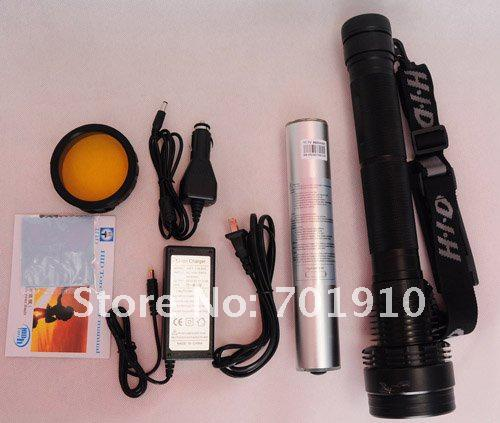 Ultra Bright 85W 8700mah 8500 Lumens Rechargeable HID  Xenon Torch