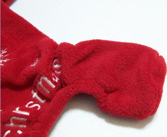 Mode niedlichen Haustier Hund Bekleidung Winterkleidung Mantel Frohe Weihnachten Kleidung Tuch Mantel rot lila Geschenk