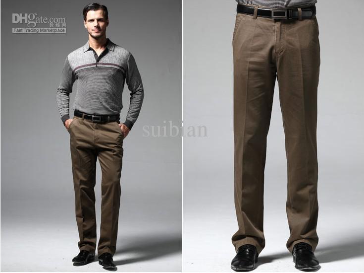 Mens Casual Work Pants
