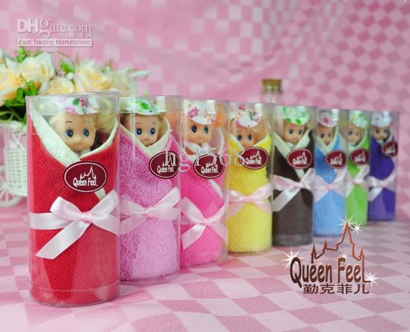 2018 Wedding Party Gift Barbie Doll Cake Towel Gift Towel 100 ...