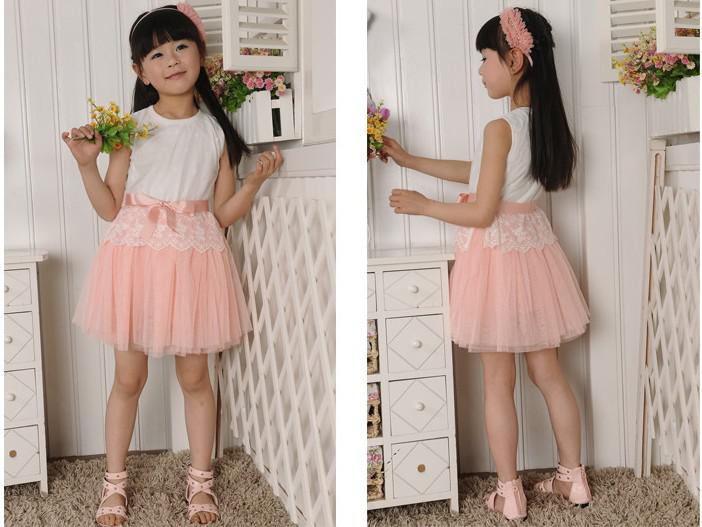 2016 Summer Girls Clothing Girls Dress Children/Baby Dress Flower ...