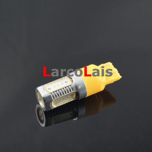 빨간색 앰버 화이트 블루 T20 7443 7.5W SMD 자동차 LED 턴 브레이크 브레이크 테일 Singal 전구 램프 12V
