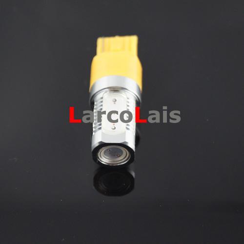Vermelho Âmbar Branco Azul T20 7440 7.5 W SMD Carro LED Turn Brake Reversa Cauda Singal Lâmpada Lâmpada 12 V
