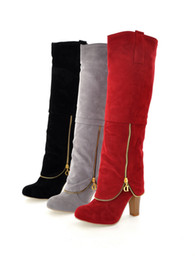 Wholesale Tall Canister Boots - 2012 Autumn and winter Ladies boots new Fashion Sexy Knight boots Tall canister boots Artificial women boots PU Female boots