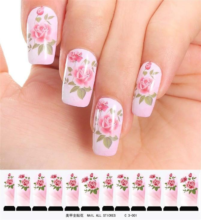 New fashion nail art full stickers watermark nail stickers water new fashion nail art full stickers watermark nail stickers water decals nail art stickers 3d nail sticker nail tattoo stickers from goodsville prinsesfo Images