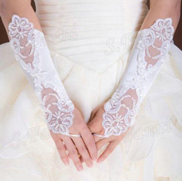 Best Selling! Lace Fashion Wedding Gloves Bridal Accessories Cheap Wedding Glove Formal Wear