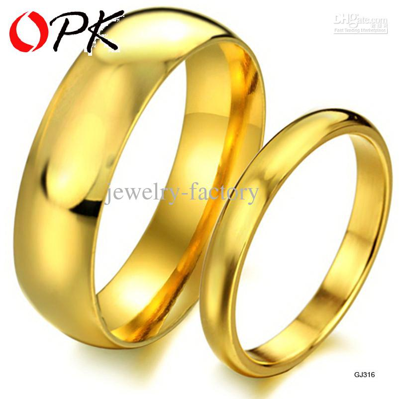 Gold color jewelry