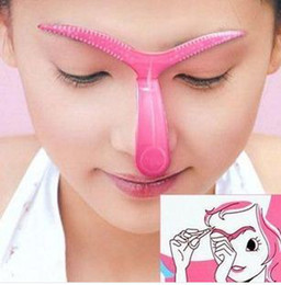 Wholesale Eyebrow Template Tool - Perfect Professional Eyebrow TemplateEYEBROW SHAPER Template Brow Stencil Shaping Tool