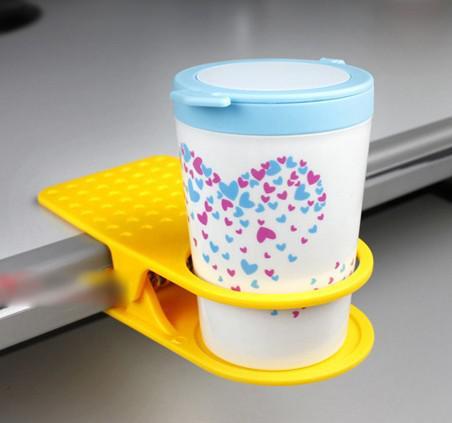 서스펜션 유리 컵 클립 Drinklip 컵 홀더 공간 절약 유리 홀더