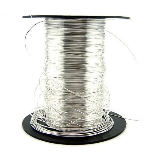5meters / lote 925 Sterling Silver Cord Wire Fones Componentes para Jóias de artesanato DIY Presente de moda XS006
