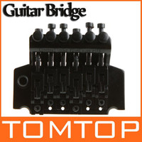 Wholesale Double Locking Bridge - Guitar Tremolo Bridge Double Locking Systyem Black Floyd Rose Lic I117