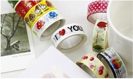Wholesale Masking Tape Washi - Colorful Printing Washi Masking Tape,Printing Washi Tape,Hot in Market,So Lovely!