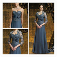 Wholesale Best Selling Mother of the Bride Dresses For Weddings With Jacket New