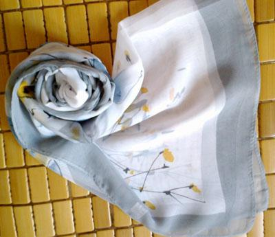 Lotes mixtos de poliéster mujer bufanda larga de 160 * 50cm / # 311
