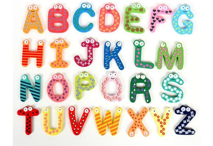 english alphabet a z fridge magnets baby early learning educational