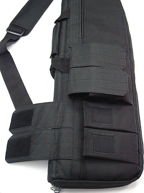 戦術911 1M R IFLE GUNスリップライフルバッグ/狩猟用バッグブラック/グリーン/カヒキ
