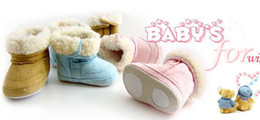 Baby Booties Canvas Canada - girls' booties baby boots Baby First Walker Shoes boys' shoes baby shoes new shoes Girl's boots