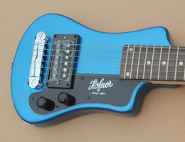 Wholesale Electric Guitar Children - Free Ship 6 Strings Blue Electric Guitar Child solid body Guitar Children's kids Electric Guitars