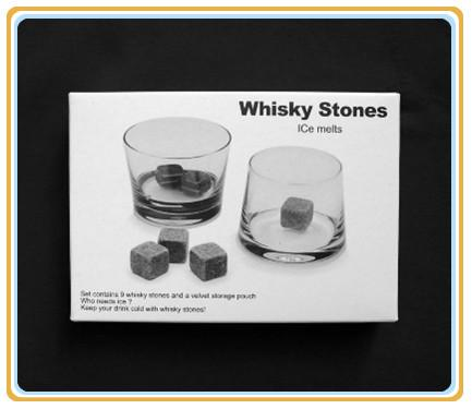Whiskey Stone, whiskey rocks 9pcs set gift box,Christmas Valentine's Father's business gift
