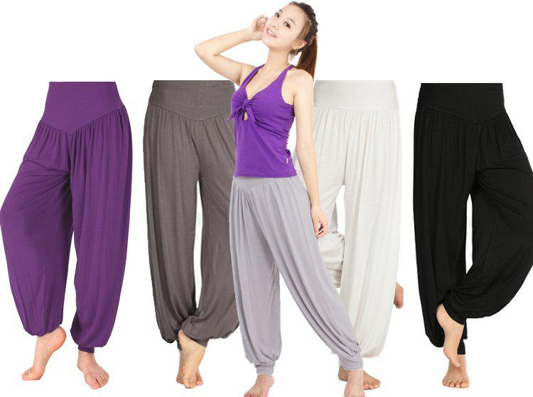 2018 harem pants women,modal plus size yoga harem leggings lady