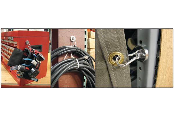 Starke 35 LBS Neodym Magnetische Karabiner Haken # BK022 @ CF