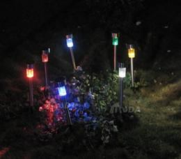 solar steel lawn lights led lights garden lights decorative lights outdoor lights top sale free shipping