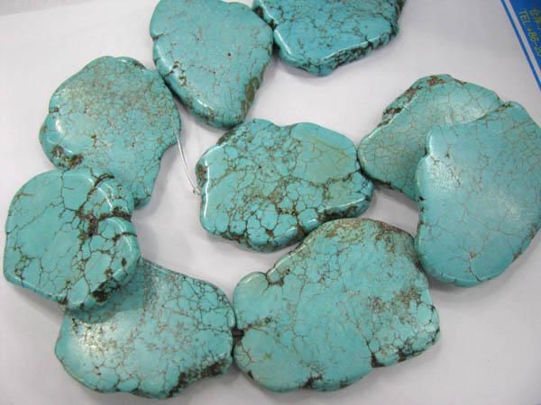 gergous nugget freeform laje plana azul verde multicolor turquesa gemstone jóias talão 25-45mm