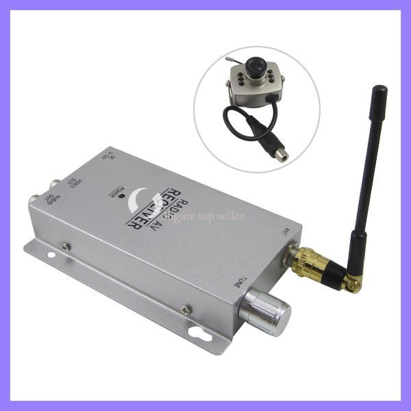 Mini CCTV security camera Night Vision wireless camera kit receivers