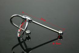 Wholesale-Free Shipping 100% the same photo male Stainless Steel Male Urethral plug SM sex toy