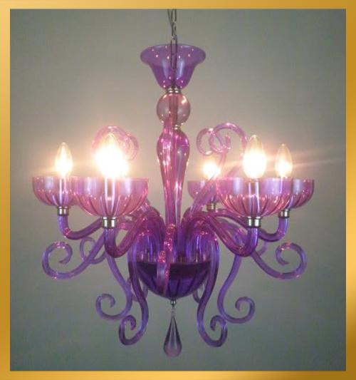 6 light blown murano glass purple violet chandelier purple 6 light blown murano glass purple violet chandelier purple crystal pendant light modern pendant lamp mozeypictures Image collections