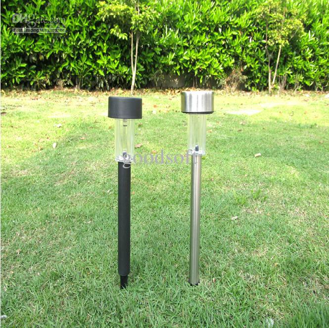 discount outdoor solar stainless steel led landscape garden path light garden solar light lawn light from - Solar Pathway Lights