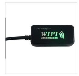 Wholesale Obd2 Apple - CLK WIFI OBD2 ELM327 car detector Apple Iphone Ipad PC iPod hight quality free shipping