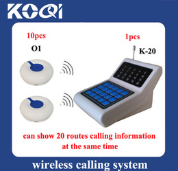 Wholesale Nursing Bell - Factory Price Nurse call bell system ; A set of 1pcs receiver and 10pcs button ; DHL freehipping