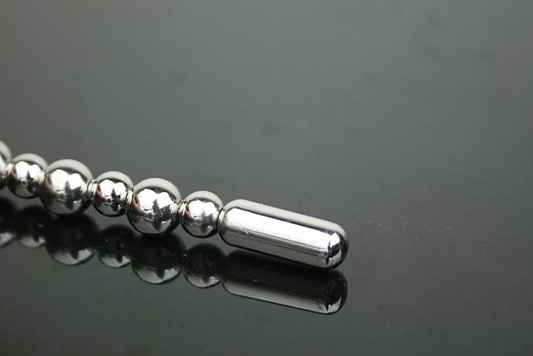 100% äkta rostfritt stål urinrör plugg metall vuxna artiklar ljud: manlig uretral sträckning
