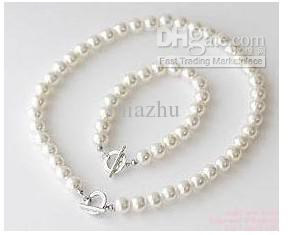 Joyería de moda de los resortes / U elige el collar de la boda de la perla de imitación determinado