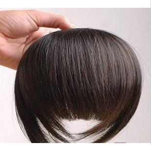 10ピースレディースの髪の髪のバンズ100%合成毛の片合成強打送料無料Bang3
