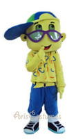 Wholesale lovely boy mascot costumes cartoon character costumes party outfits