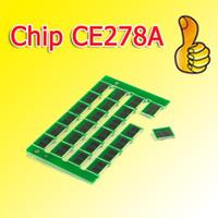 барабанный картридж оптовых-Универсальная микросхема 278A с тонер-картриджем барабанная микросхема CE278A, 78A чип с тонером, совместимый для HP P1566 / 1606 +