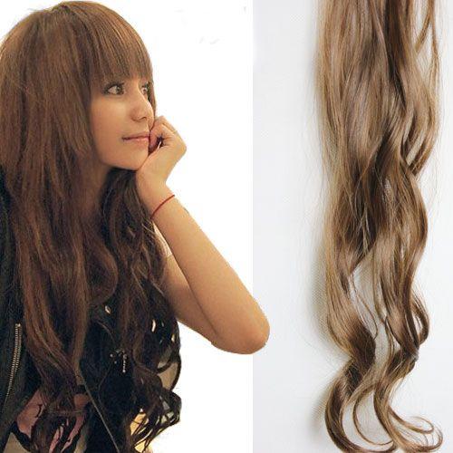 出荷 -  /ロット高品質の合成毛延長毛髪片の2つのクリップ