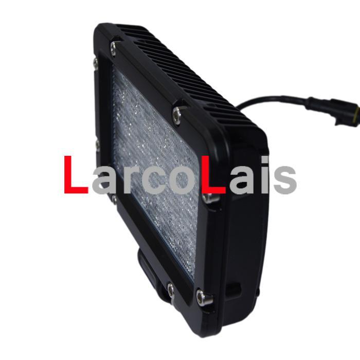2ピース24W LEDワークライト2900ルーメン10-30VオフロードATV
