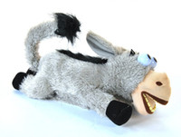 Wholesale Donkey Roll - Rolling on the floor donkey laughing donkeys electric toys rolling shook his head donkey