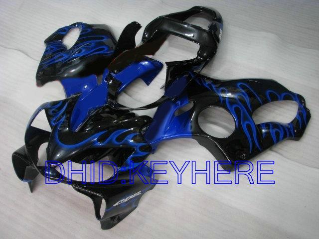 Blue Flame Fairing Kit voor Honda CBR600 F4I 2001 2002 2003 CBR 600 CBRF4I 01 02 03 Carrosseriebereiken