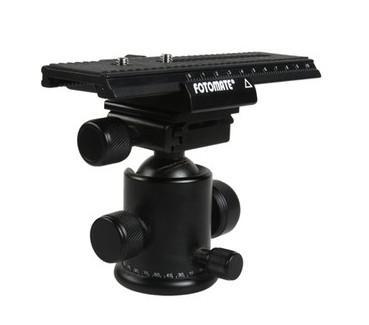 Fotomate LP-01 2-Wege-Makro-Fokus-Schiene Slider Stativ-Platte Makro-Dreh-lange Art Stativkopf Kamera