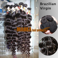 Wholesale 20 inch G oz brazilian virgin human hair extension deep wave