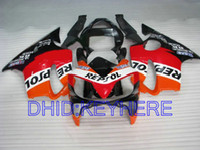 honda f4i repsol carenados al por mayor-Kit de carenado REPSOL para Honda CBR600 F4i 2001 2002 2003 cbr 600 CBRF4i 01 02 03 carenados de carrocería
