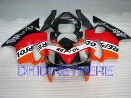 kit carenado yamaha r1 morado Rebajas Kit de carenado REPSOL para Honda CBR600 F4i 2001 2002 2003 cbr 600 CBRF4i 01 02 03 carenados de carrocería