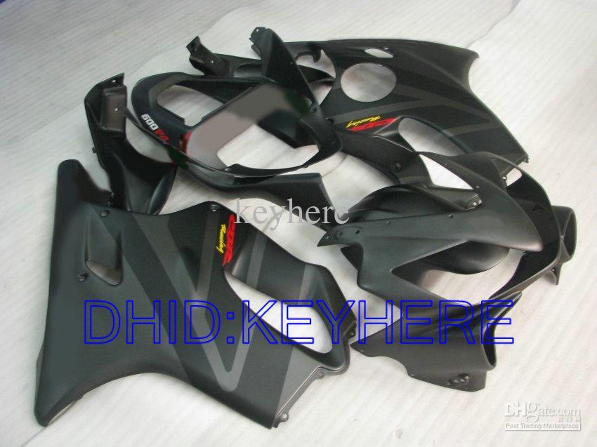 kit de carénage mat blk pour Honda CBR600 F4i 2001 2002 2003 cbr 600 CBRF4i 01 02 03 carénage carénages