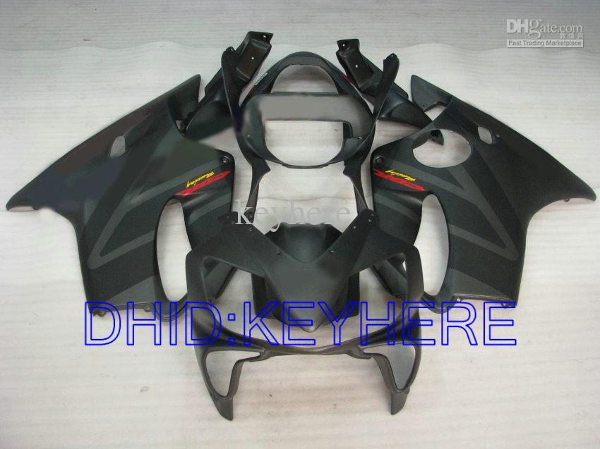 матовый чер комплект обтекатель для Honda CBR600 F4i 2001 2002 2003 01 02 03 кузов обтекатели ЦБ РФ 600 CBRF4i